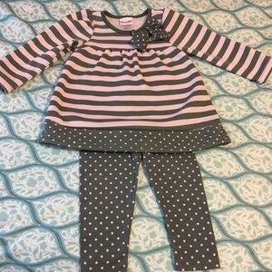 Sweater dress and leggings size 24 months